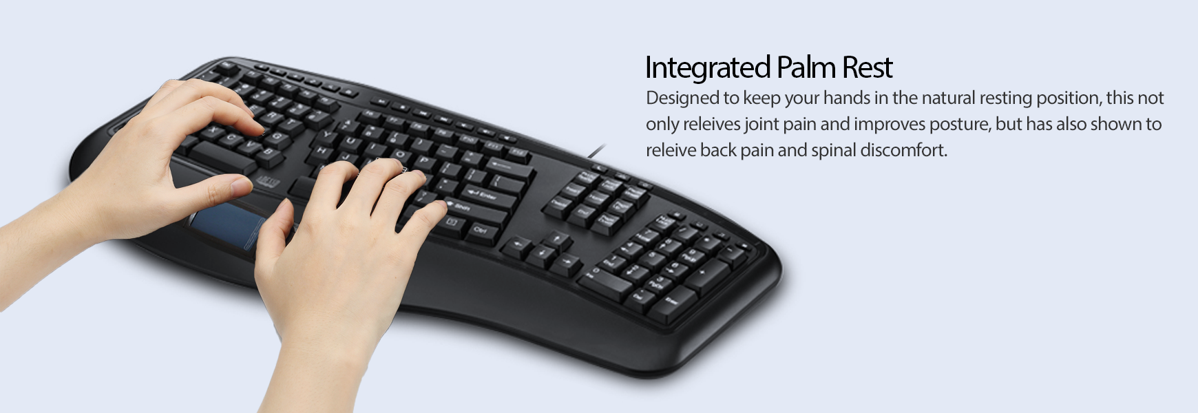 Integrated Palm Rest