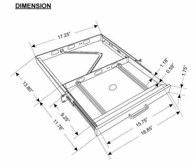 MRP-1C_Dimensions