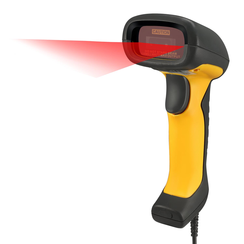 Nuscan 5200tu Antimicrobial Waterproof 2d Barcode Scanner