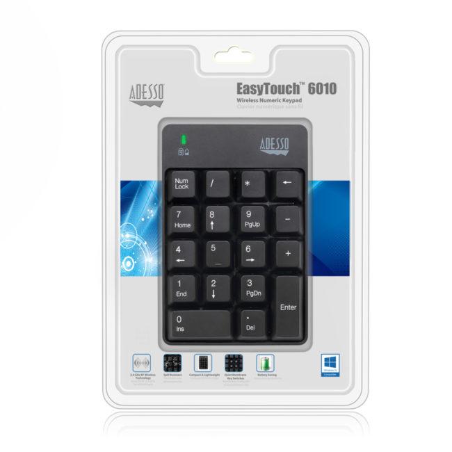 WKB-6010UB - Wireless Spill Resistant 18-Key Numeric Keypad