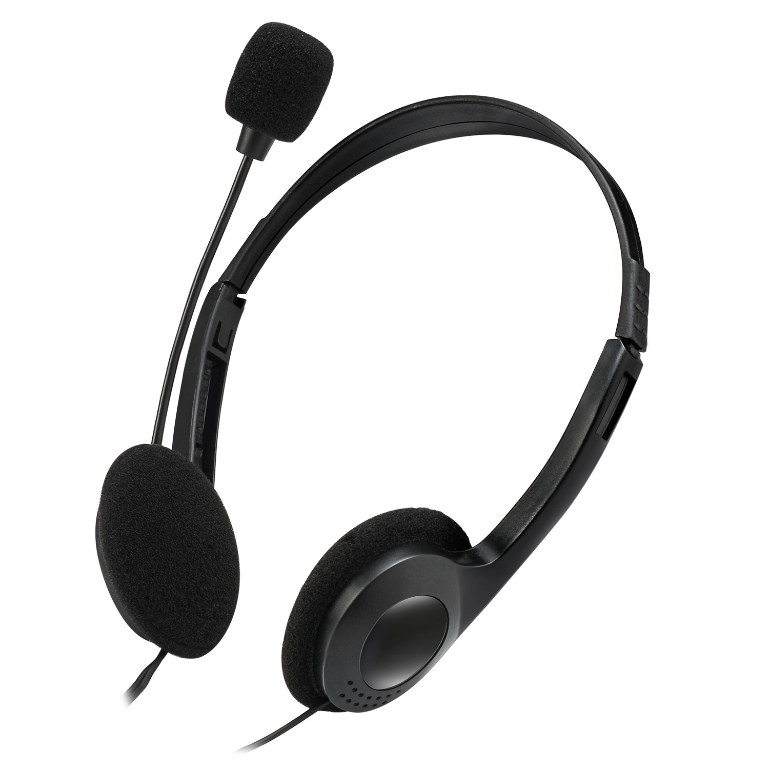 Stereo Headphone Headset With Microphone Adesso Inc Your Input Device Specialist